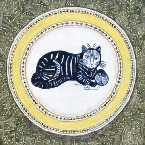 Bawden cat plate