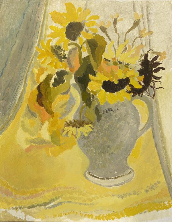 Studio sunflowers